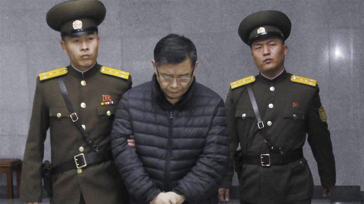 Le pasteur torontois Hyeon Soo Lim a été condamné à la prison à vie en Corée du Nord.
