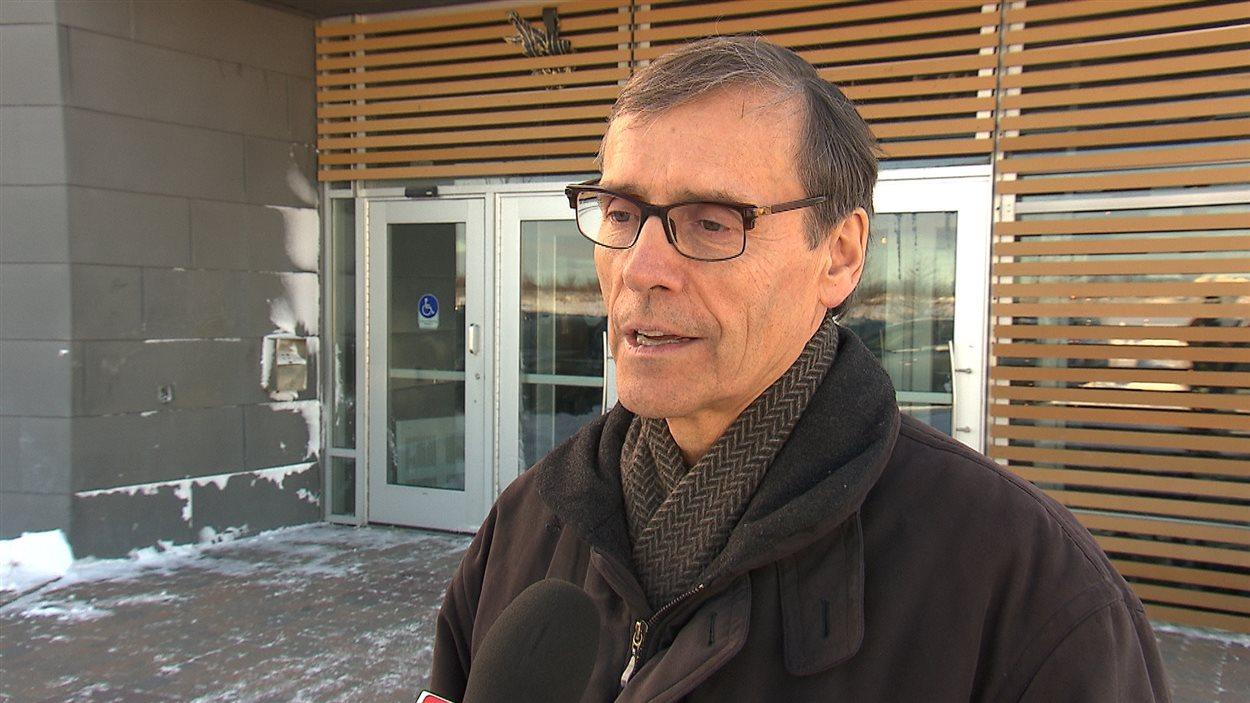 Richard Garneau, président et chef de la direction de Produits forestiers Résolu