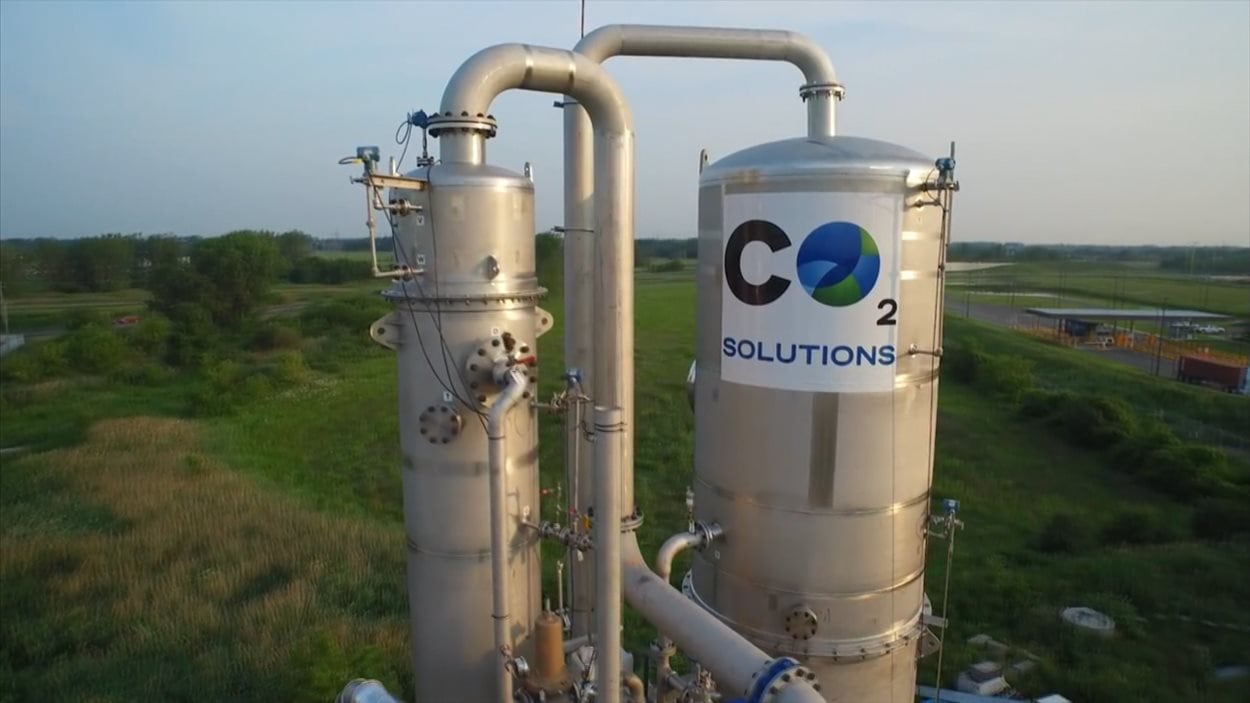 CO2 Solutions, à Québec