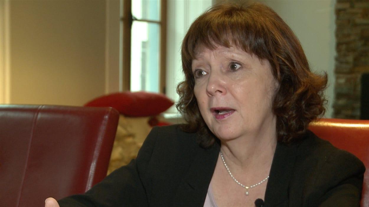 Andrée Béchard, mère de Marilyn Bergeron, disparue en février 2008