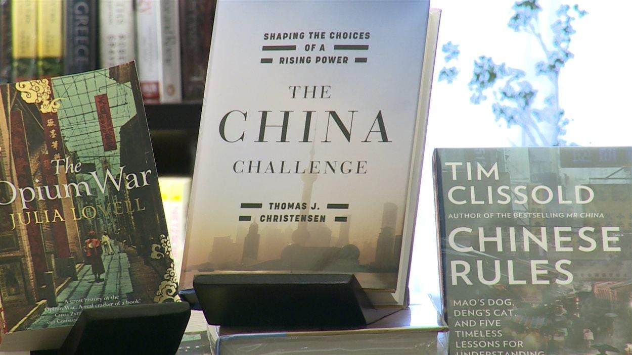 Livres dans une librairie de la Chine