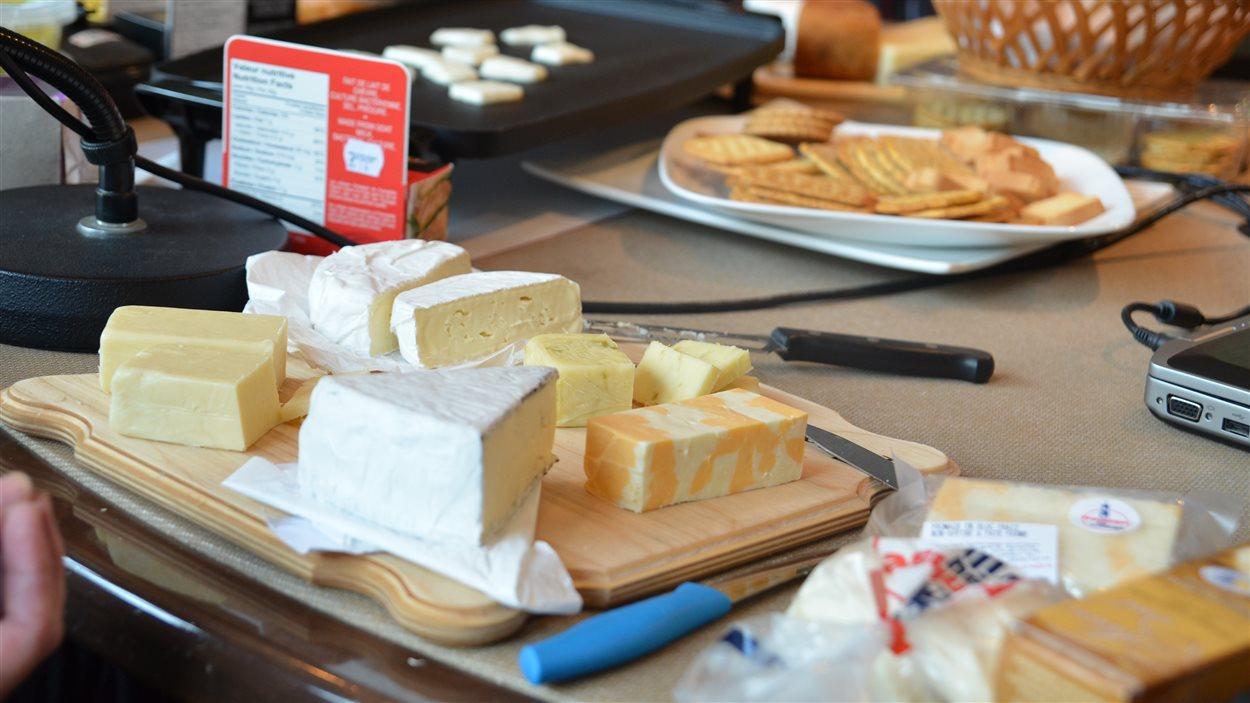 Dégustation de fromages de l'Abitibi-Témiscamingue