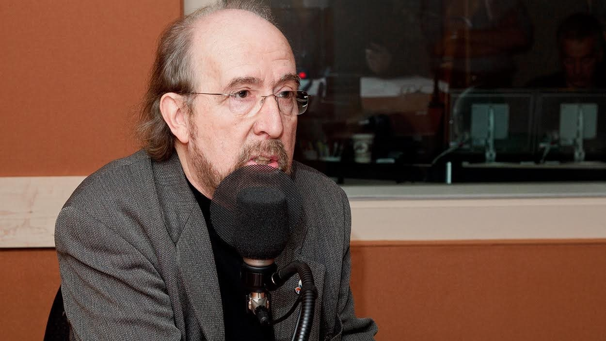 Gérald Larose en studio