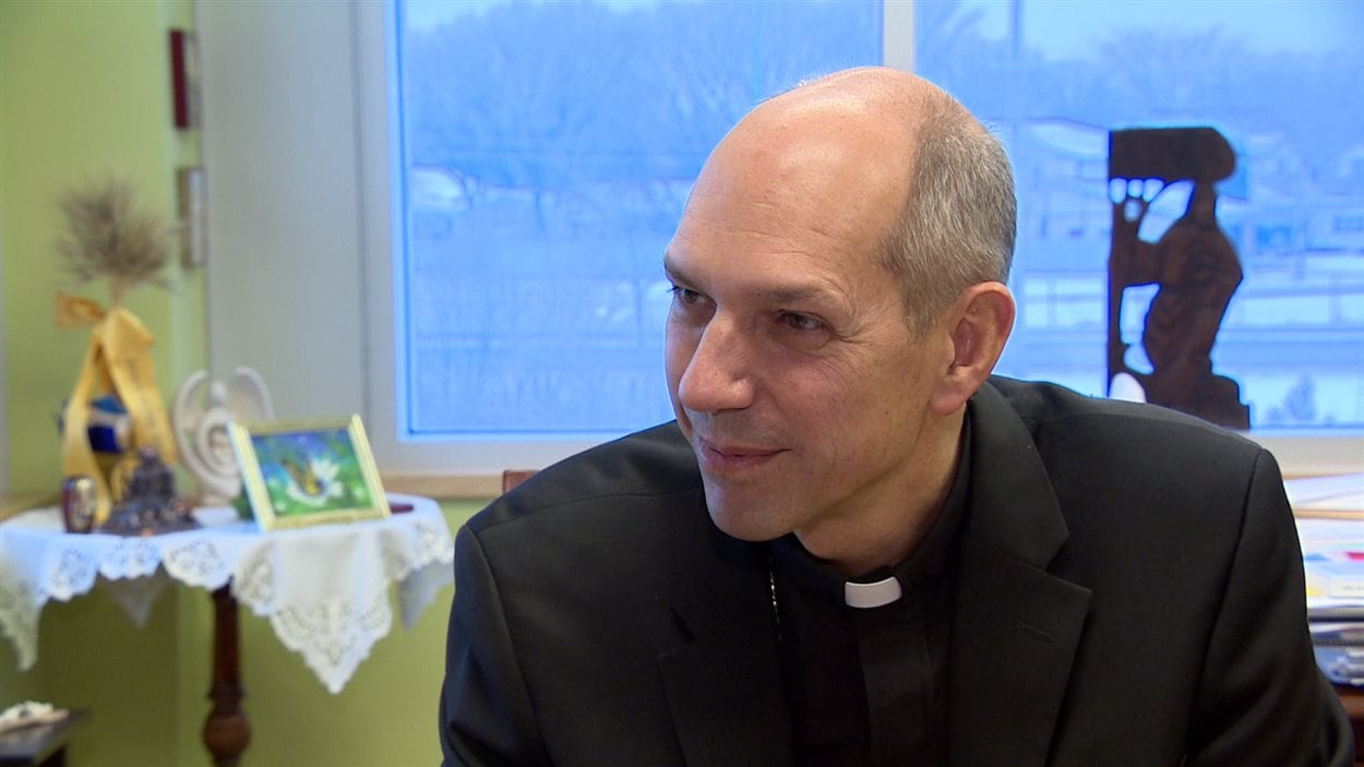 Mgr Donald Bolen, évêque du diocèse de Saskatoon.