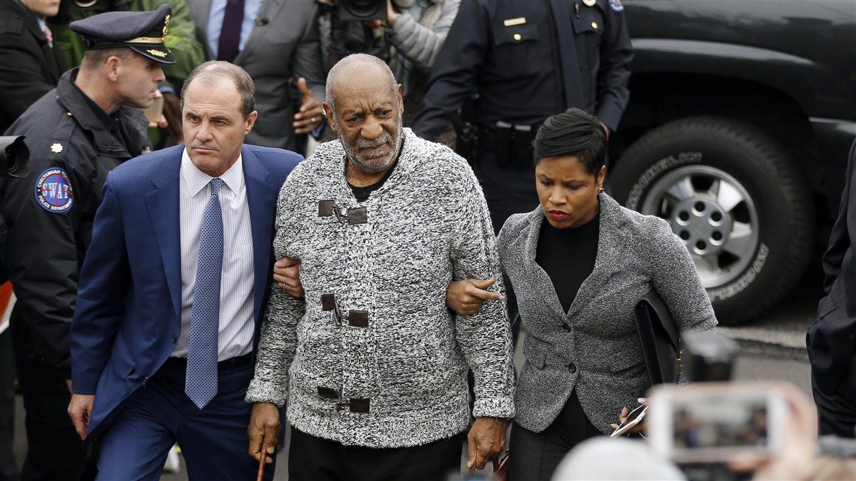 Bill Cosby arrive en cour en Pennsylvanie le 30 décembre