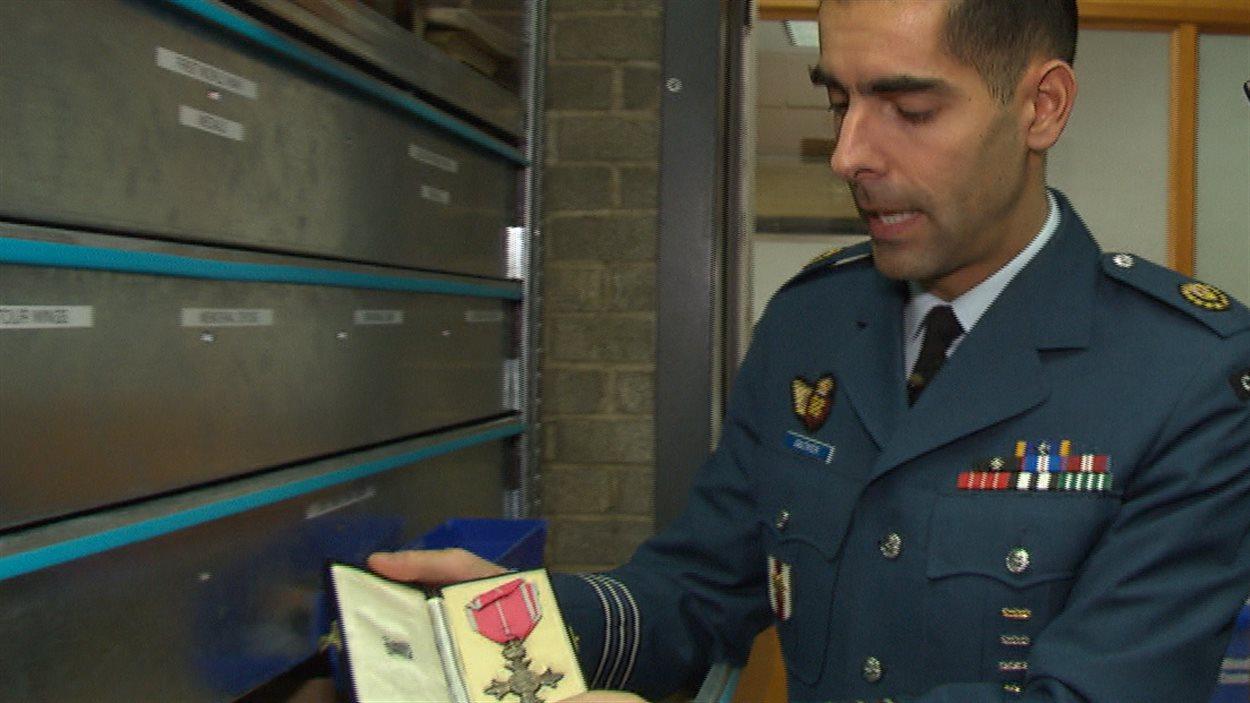Le lieutenant-colonel Carl Gauthier