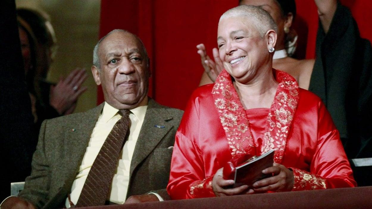 Le comédien Bill Cosby et son épouse Camille