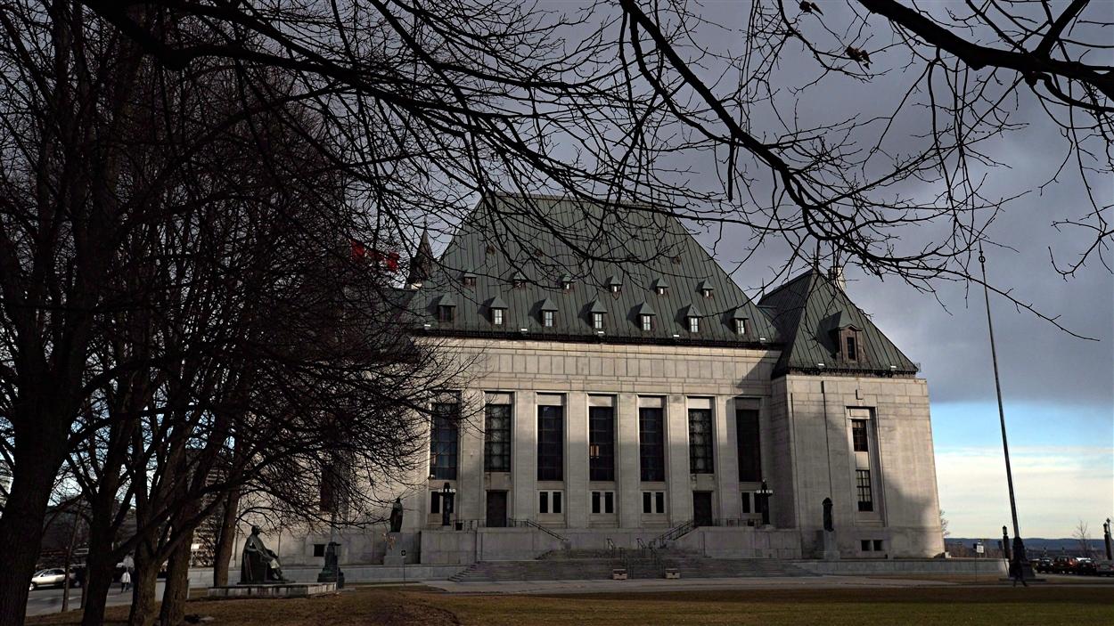 La Cour suprême du Canada à Ottawa.