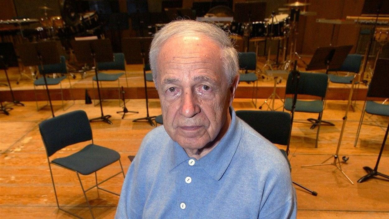 Pierre Boulez, en février 2005, à la Cité de la Musique de Paris.