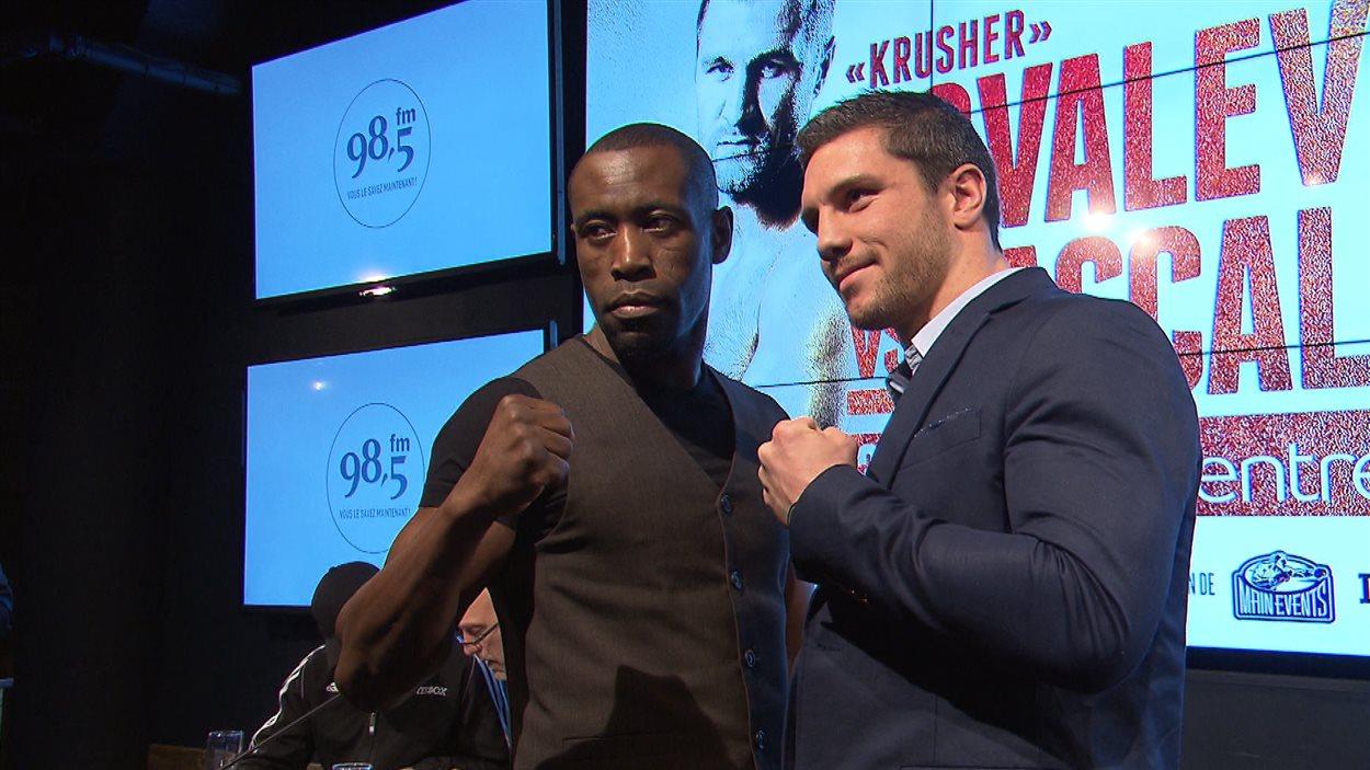 Les boxeurs Renan St-Juste et Francis Lafrenière s'affronteront le 30 janvier.