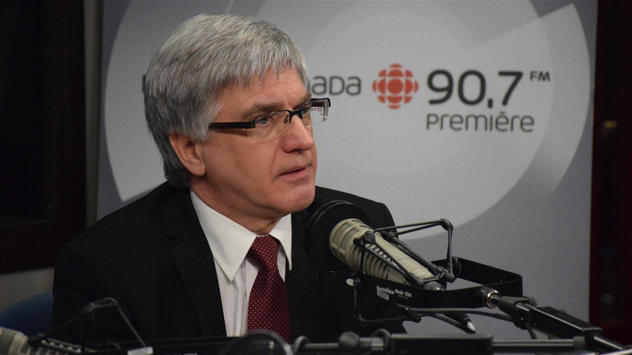 Jean Hébert, PDG du CISSS de l'Outaouais