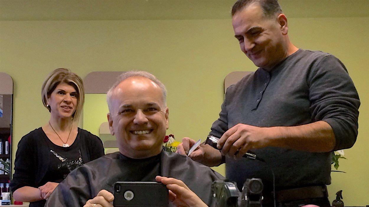 Le maire de Coquitlam a été le premier client de Mohammed Kurdi.