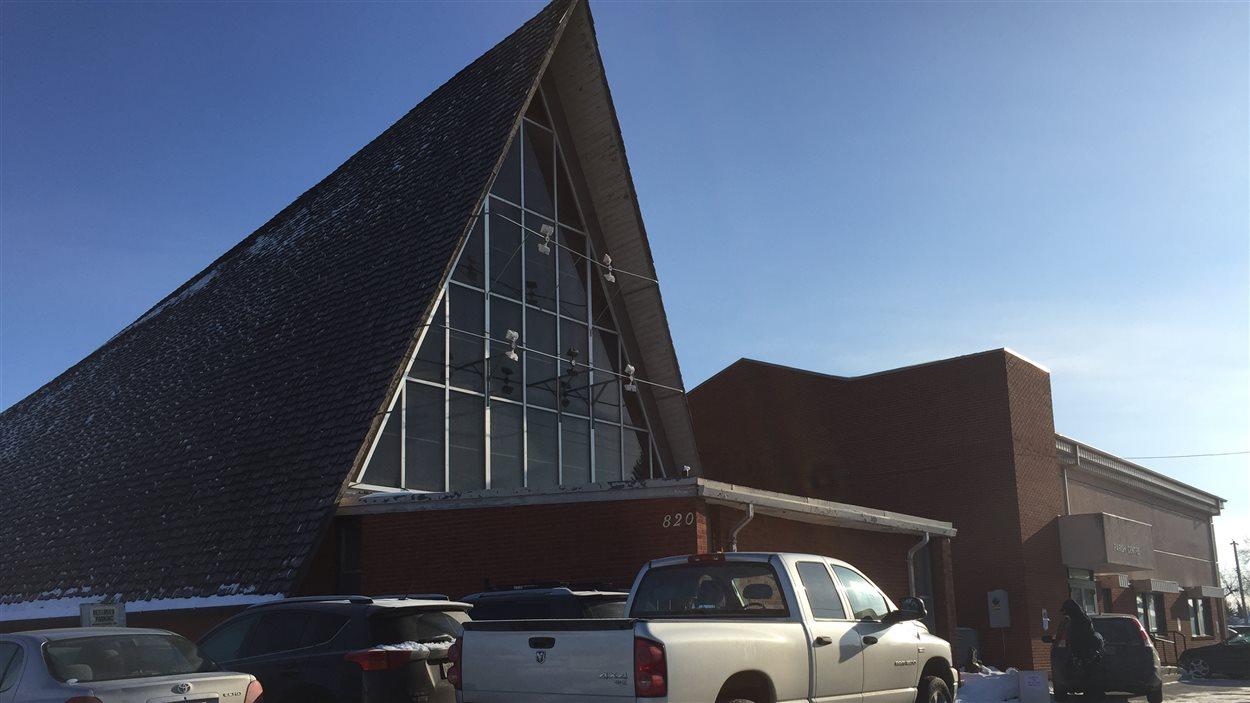 La paroisse Sainte-Bernadette à Winnipeg