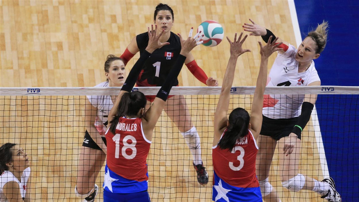 Les Canadiennes se sont bien battues face au Portoricaines