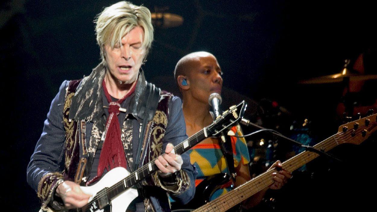David Bowie en concert à Boston le 30 mars 2004