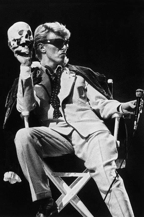 David Bowie sur scène à Bruxelles le 20 mai 1983
