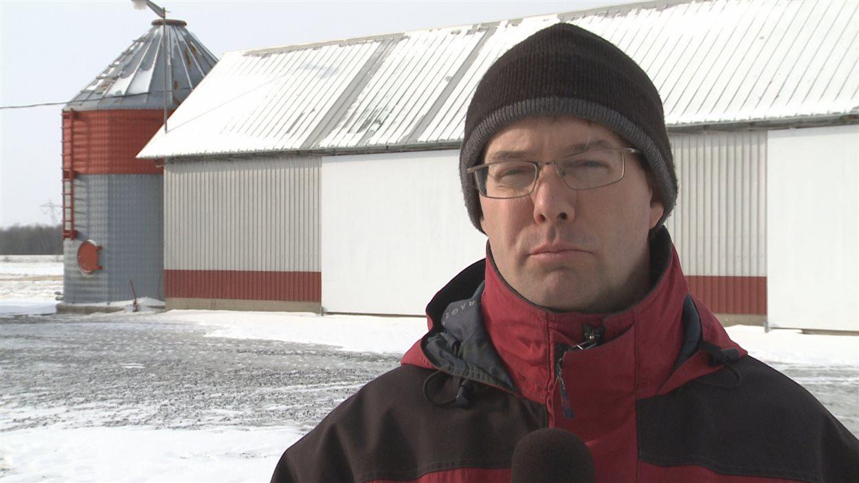 Yves Gatien, ex-producteur laitier de Drummondville