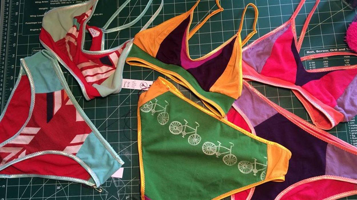 Sous-vêtements fabriqués à partir de matières recyclées