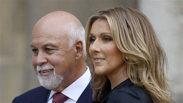 René Angelil et Céline Dion