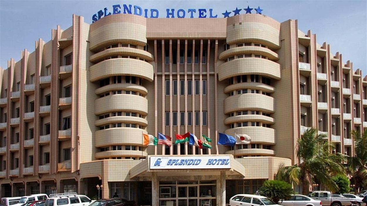 L'hôtel Splendid, dans le quartier des affaires de Ouagadougou.