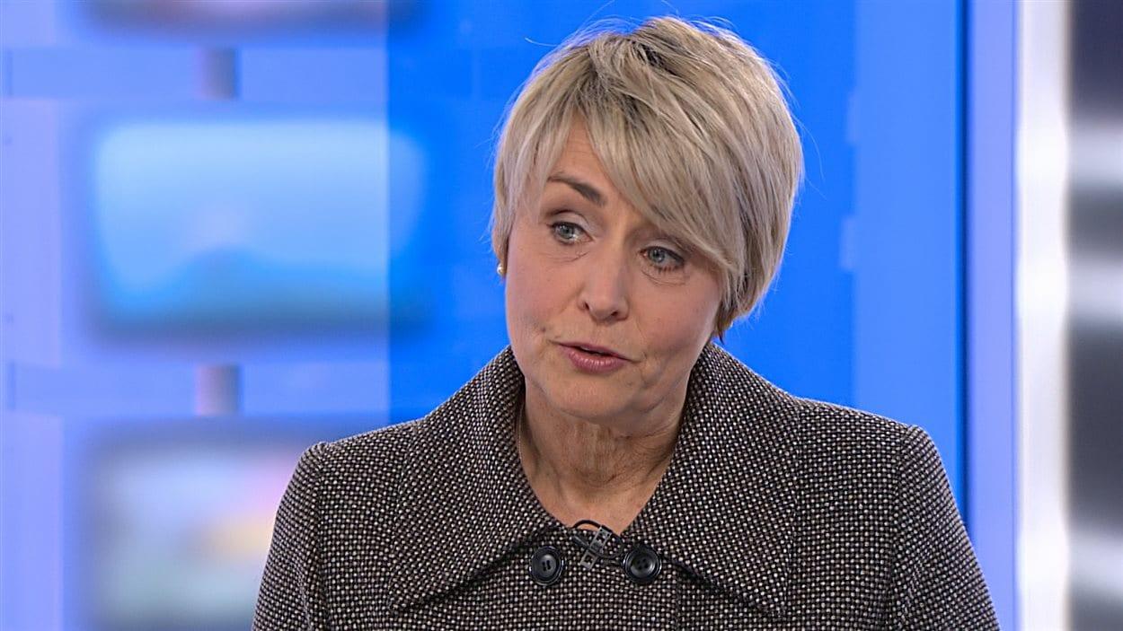 L'ex-olympienne Sylvie Bernier