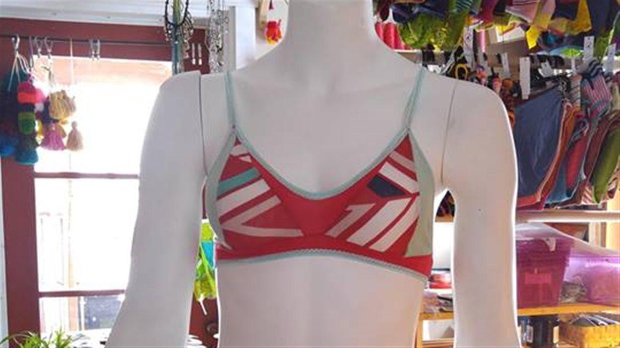 Joële-Yoja fabrique des sous-vêtements à partir de tissus recyclés