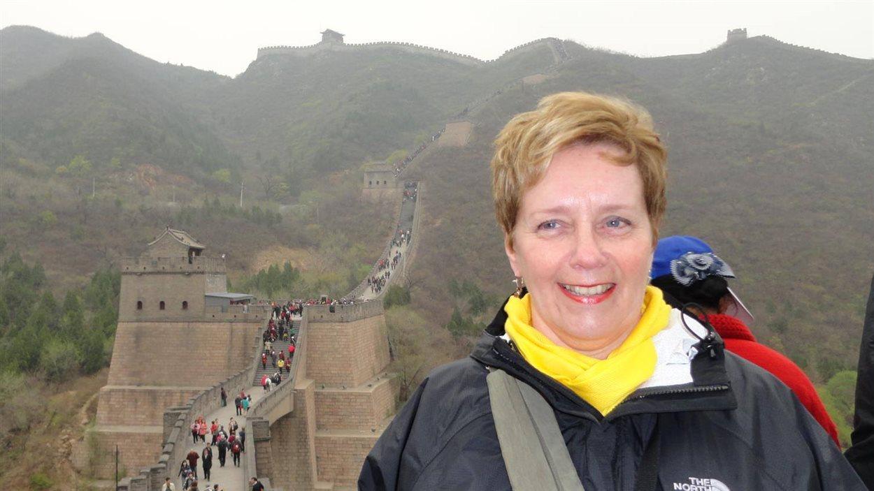 Suzanne Bernier en 2012. Retraitée, elle a été directrice de l'école Saint-Paul-Apotre à la fin de sa carrière.