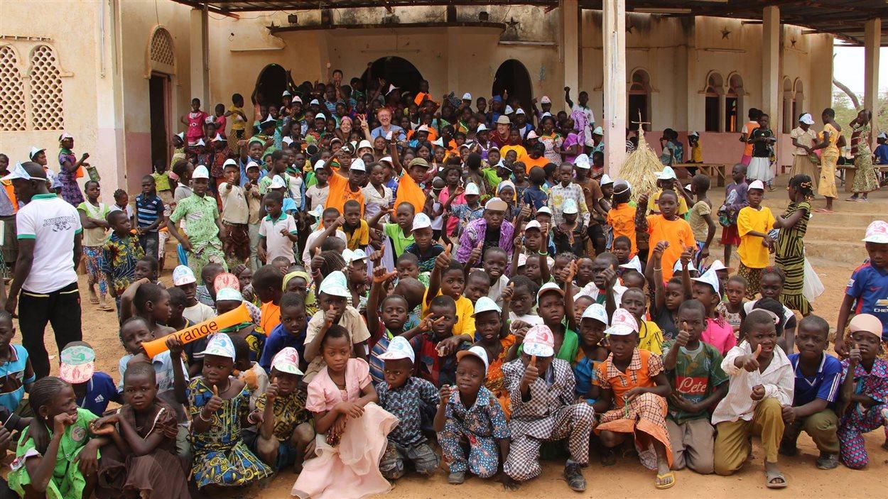 La Congrégation des sœurs de Notre-Dame du Perpétuel Secours était à l'origine du projet d'école dans la région de Ouagadougou