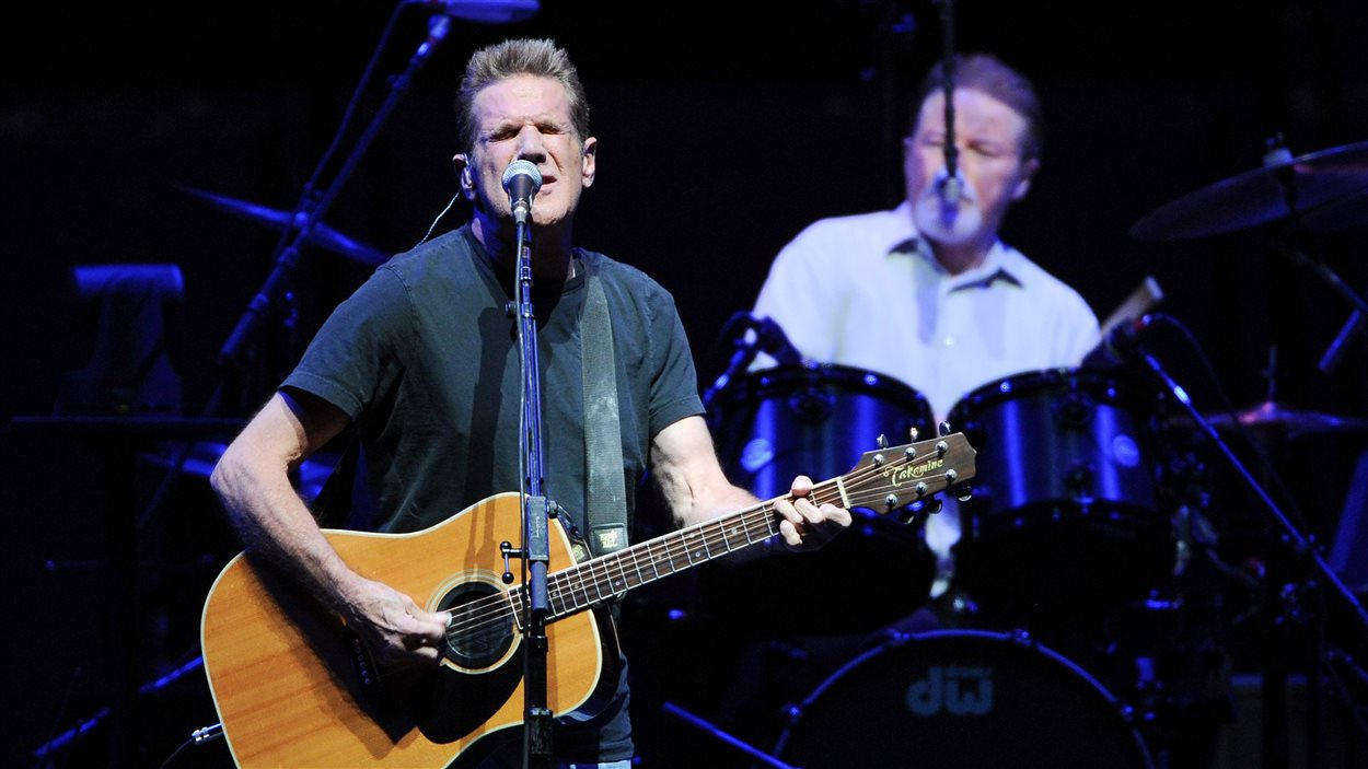 Glenn Frey au Madison Square Garden à New York en novembre 2013