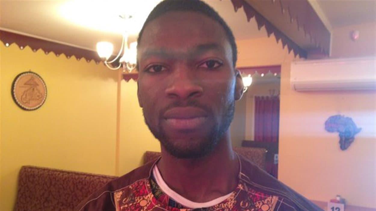 William Bougaire est Burkinabé. Il est restaurateur à Moncton.