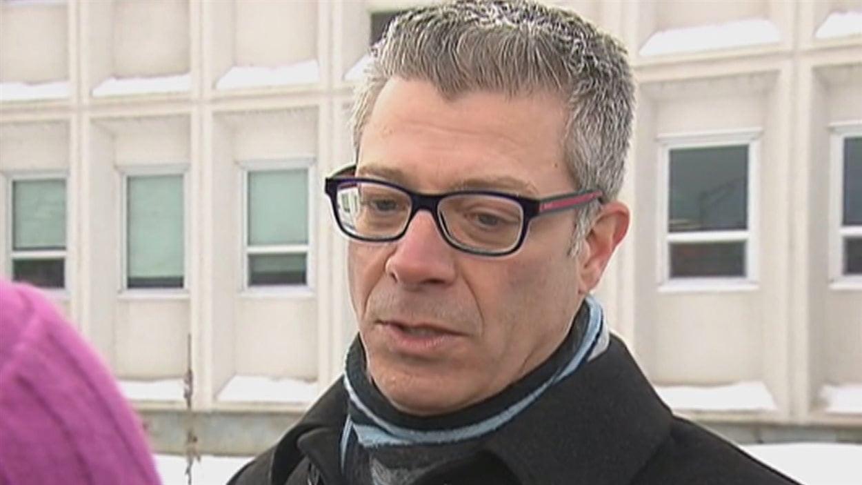 Érick Parent, secrétaire général de la commission scolaire de la Capitale