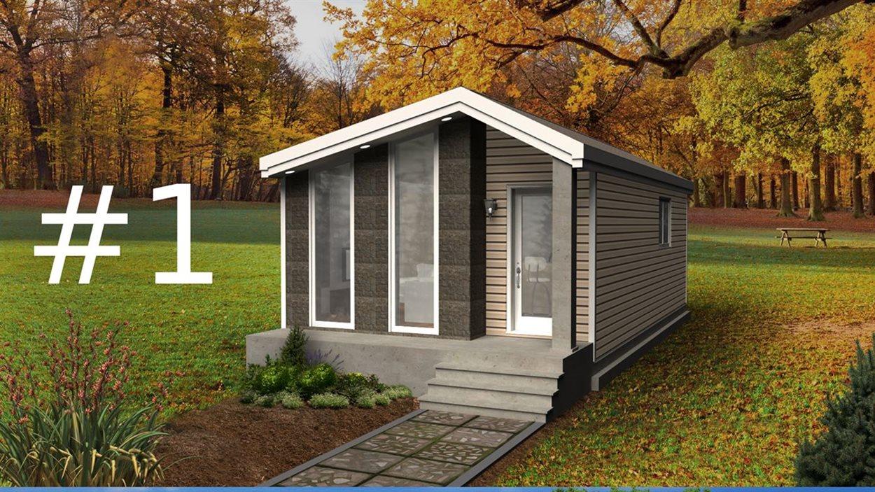 Des Minis Maisons Adaptees Au Climat Abitibien Ici Radio Canada Ca