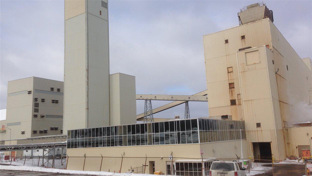 L'ancienne mine de Penobsquis qui a fermé en décembre dernier