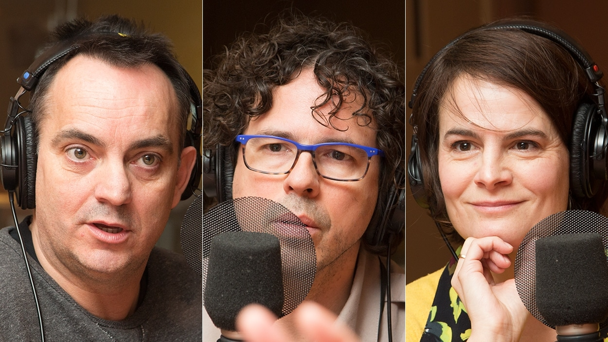 Yannick Marjot, Simon C. Vaillancourt et Stéphanie Leclerc