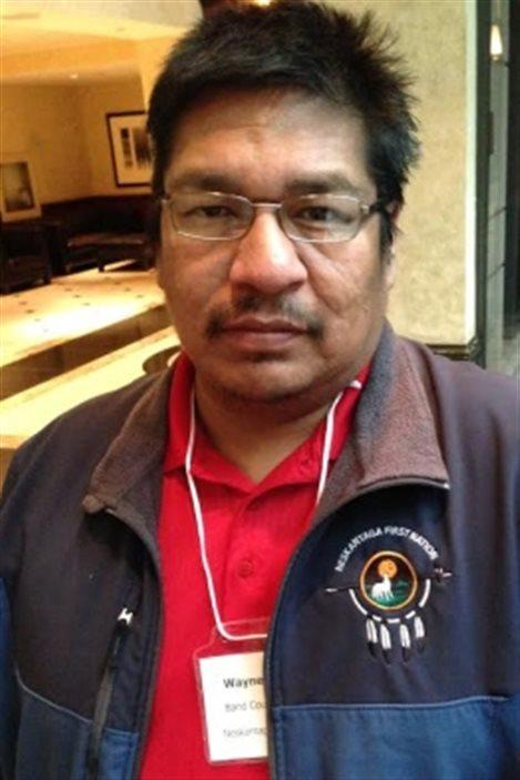 Wayne Moonias, chef de la Première Nation de Neskantaga