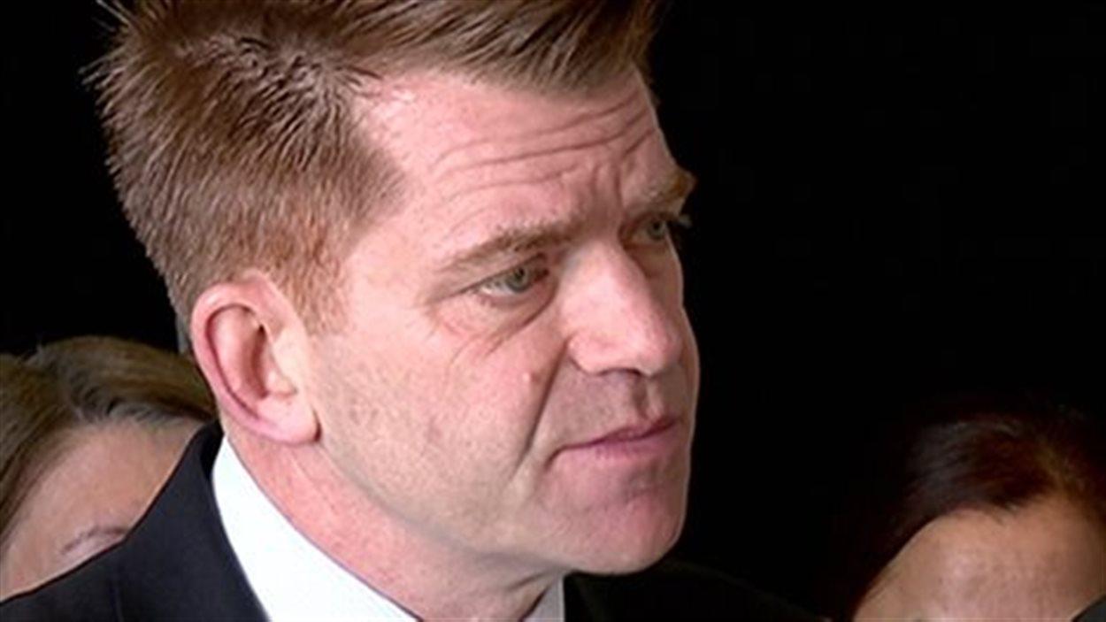Brian Jean, chef de l'opposition albertaine et du Wildrose Party