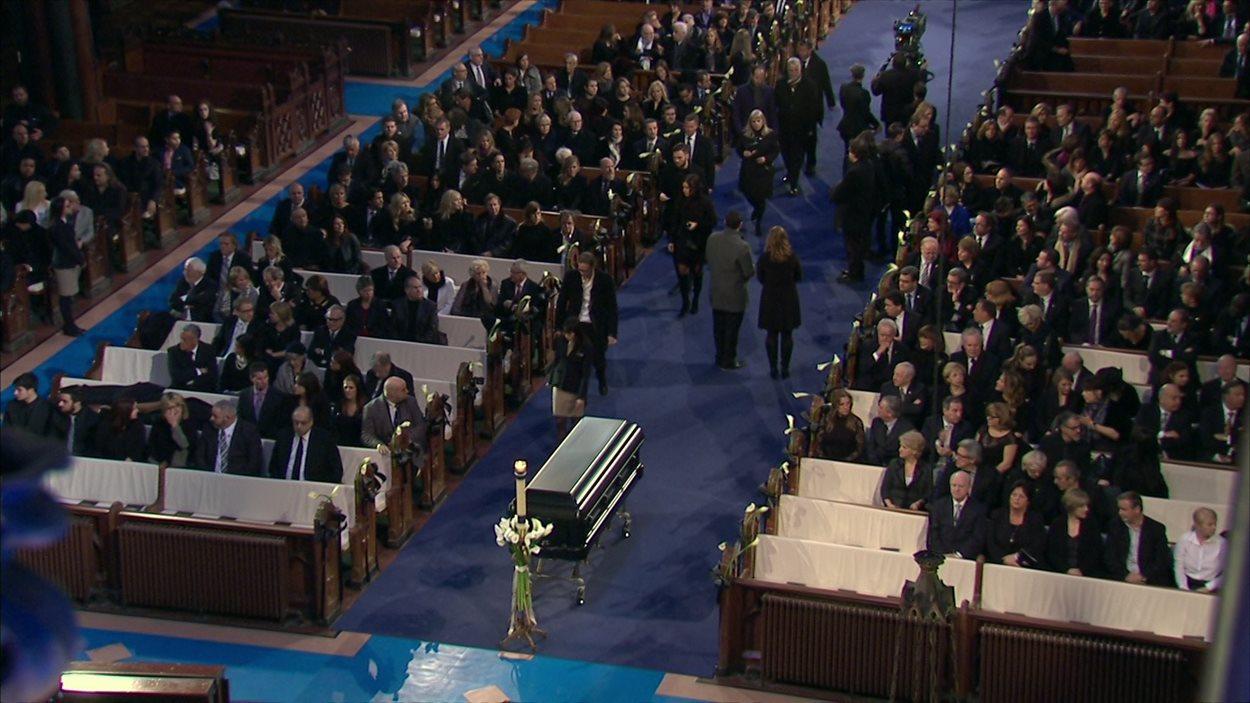 Les funérailles de René Angélil