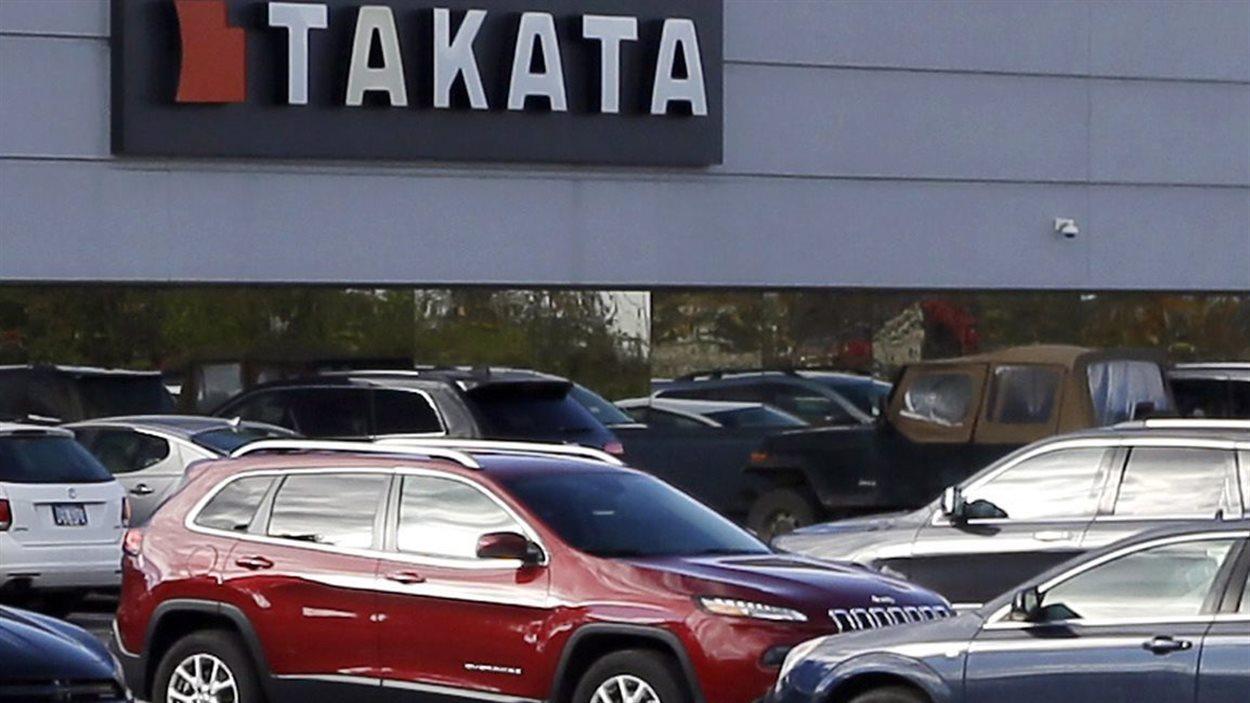 Le siège social nord-américain du fournisseur de pièces pour automobiles Takata, au Michigan, est montré sur cette photo datée du 22 octobre 2014.