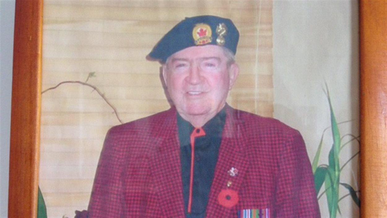 Roland Fortier, de Val-d'Or, vétéran de la Seconde Guerre mondiale