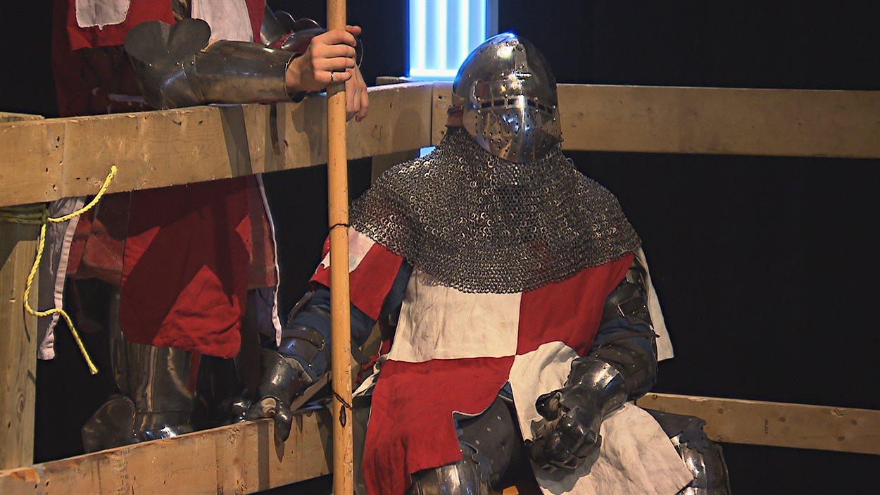 Une compétition de combats médiévaux à Nicolet.
