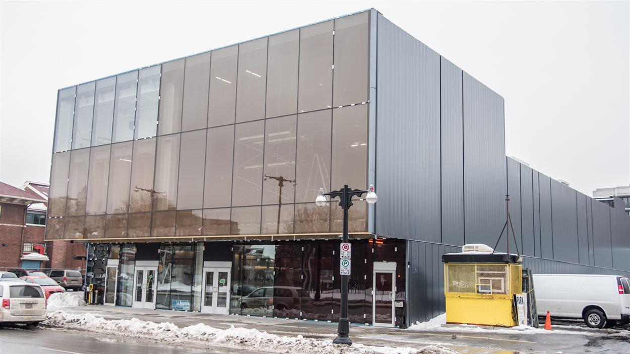 Le nouvel édifice ouvre ses portes au public mardi.