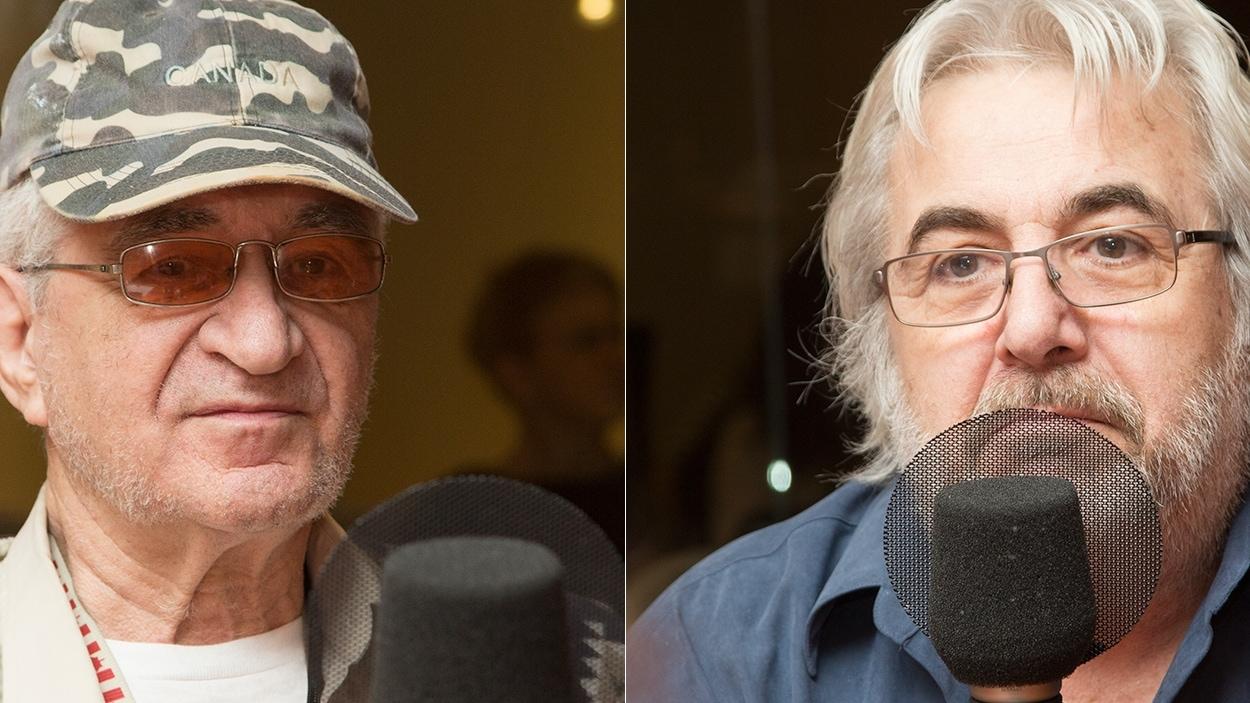 Réal Dumont et Gérard Piquemal
