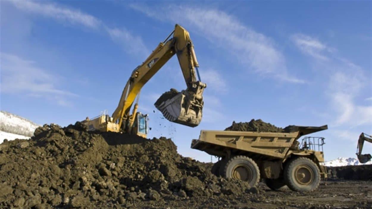 La mine Minto au Yukon.