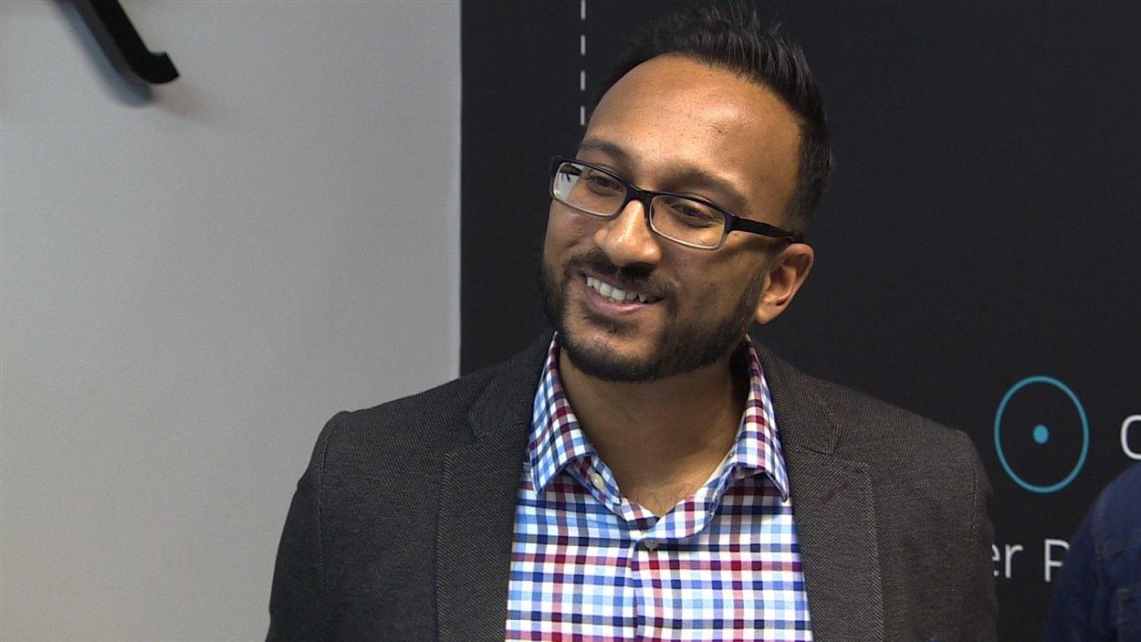 Ramit Kar, porte-parole d'Uber à Edmonton.