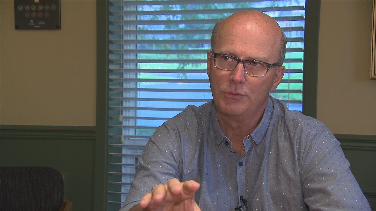 Gilles Garon, maire de Témisocuata-sur-le-Lac