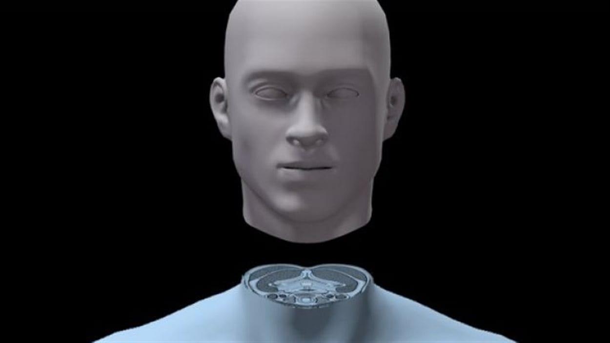 Une tête