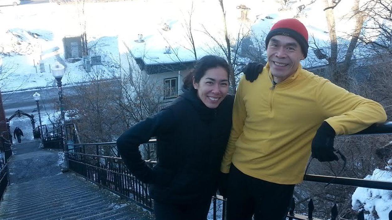 Napoléon C. Woo et sa fille, Jaime Kate Woo.