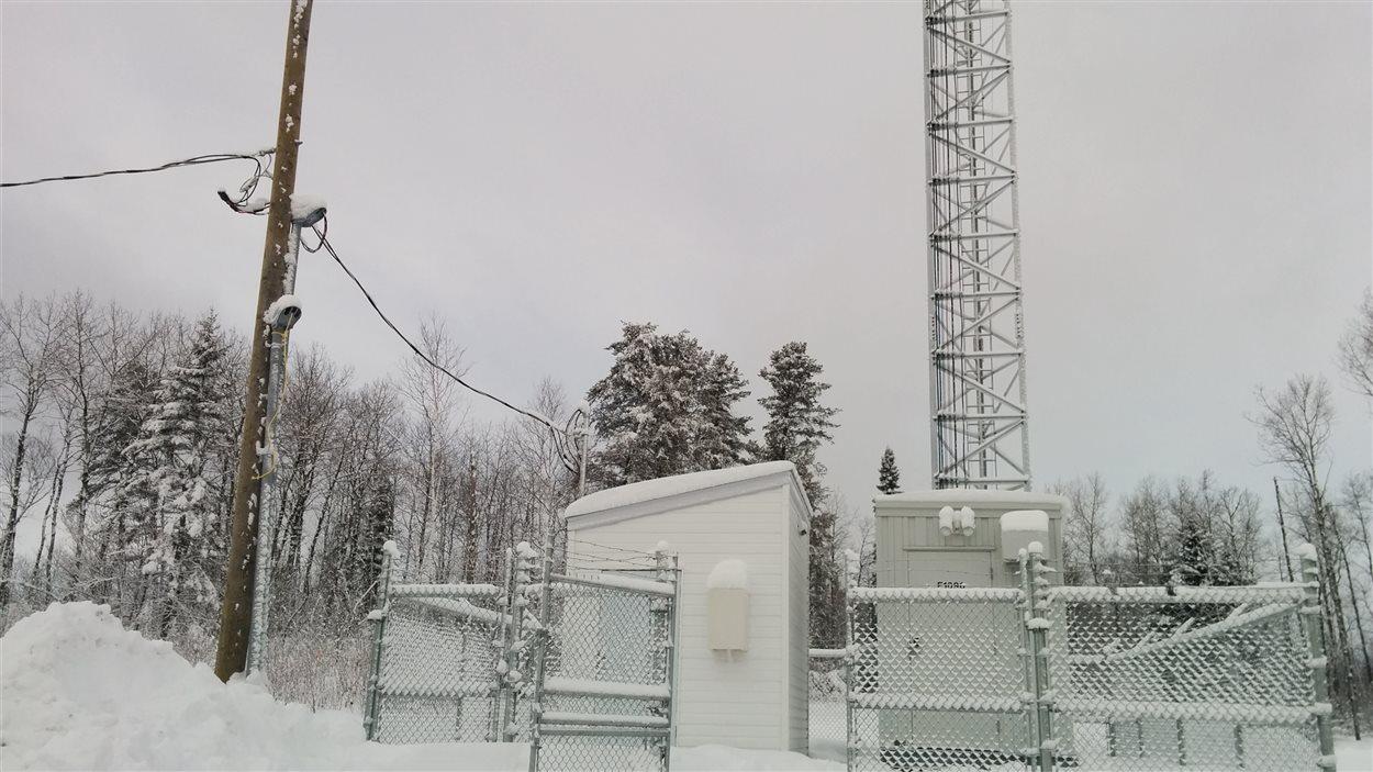 La nouvelle tour de téléphonie cellulaire fonctionne à Girardville.