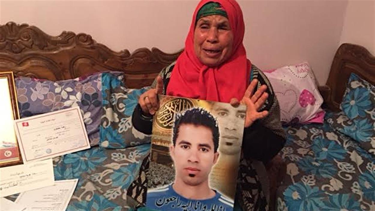 Ridha Yahyaoui a été tué lors de manifestations à Kasserine, en Tunisie.