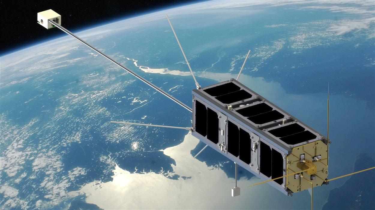 Le satellite cube de l'Université de l'Alberta
